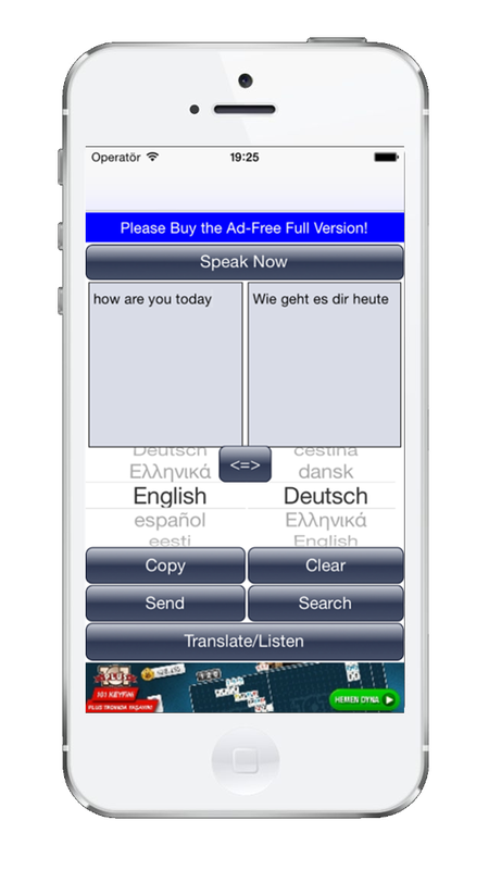 Speech to Text Translator TTS Free is now on the App Store